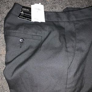 Banana Republic Mid rise straight fit trouser